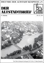 Altstadtbrief 33 / 2005