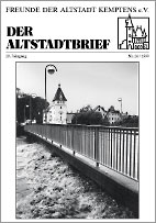 Altstadtbrief 26 / 1999