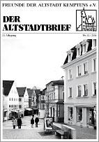 Altstadtbrief 31 / 2004